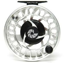 NAUTILUS NV G-7/8 #7/8 WEIGHT FLY REEL SILVER LEFT HAND RETRIEVE FREE WW SHIP