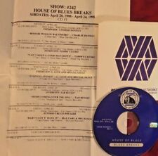 RADIO SHOW: BLUES BREAKS 4/20/98 CHARLIE DANIELS, TAB BENOIT, TOMMY CASTRO