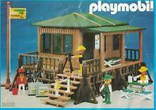 Playmobil Bauanleitung 3433 Safari-Station