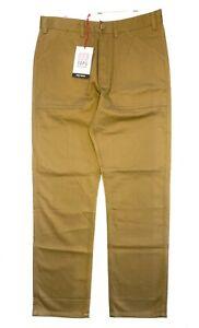 TOPO DESIGNS Mens Field Pocket Cotton Chino Pants Khaki Brown (MSRP $89)