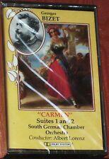 Bizet Carmen Suites 1, 2 Albert Lorenz CASSETTE ALBUM Bibi Mus BBM123 NEW SEALED