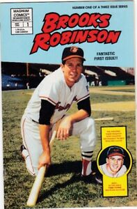 MAGNUM COMICS MAY 1992 #1 BROOKS ROBINSON BALTIMORE ORIOLES FIRST EDITION NM/MT