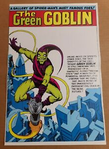 Green Goblin Pinup Amazing Spider-Man Annual Marvel Comics Poster by Steve Ditko