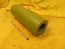 GREEN NYLON TUBE oilon plastic round bushing rod pipe nyloil 3 1/2