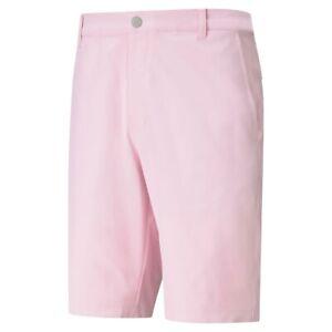 Puma mens jackpot golf short pink lady 34