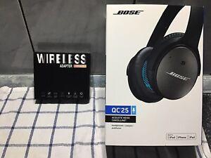 Bose Kopfhörer Mit Wireless Adapter