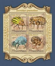 Mozambique - 2018 Insects & Parasites - 4 Stamp Sheet - MOZ18105a