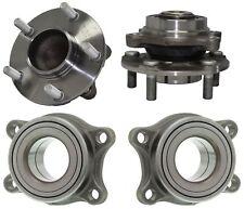 4 Pcs Front/Rear Wheel Hub and Bearing Fits 03-07 Infiniti G35 03-09 Nissan 35OZ