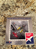 NEW!! Daron Postage Stamp P-51D Mustang Big Beautiful Doll PS5342-8 1/100. NEW