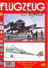 "FP-49 Focke-Wulf Fw-189 ""Uhu"" Nahaufklärer,  Flugzeug-Profile 49, NEU&"