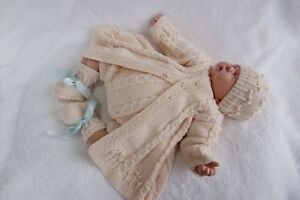 PRINTED PAPER KNITTING PATTERN TO MAKE TOM'S SECRET GARDEN PARTY FOR BABY/ DOLLS