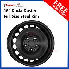 """DACIA DUSTER 2010-2016 Full Size 16"""" Steel Spare Wheel, Steel Rim"""