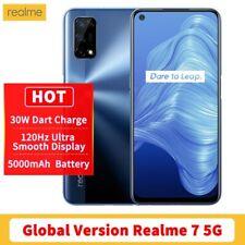 Realme 7 5G 6GB/128GB NFC Dual-Sim Quad Kamera Handy Smartphone Blau