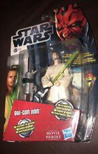 Star Wars Qui-Gon Yinn figura sellado cardado Como Nuevo De Colección Estilo cardada Excelente