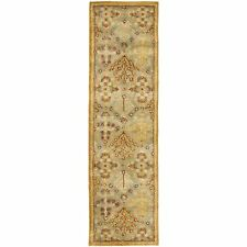 Hand-Tufted Antiquity LIGHT BLUE Wool Rug 2' 3 x 20' Runner