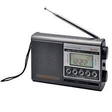 SanSai Alarm Clock 10 Band Portable World Radio - RD615