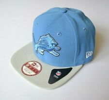 Detroit Lions NFL Hat Cap Snapback Light Blue Original Fit Sz. Med to Large