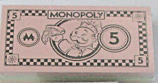 new money cash Monopoly Pizza Game 2018 replacement