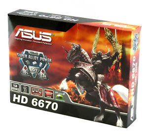 Asus AMD Radeon HD 6670 Graphics Card EAH6670/DIS/1GD5