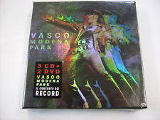 VASCO ROSSI - MODENA PARK - 3CD+2DVD NEW SEALED 2017