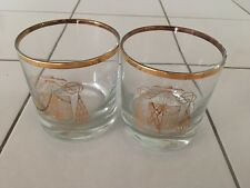 """Drinking Glasses, Set of Two, Engraved With Inspirational Quote, 3.5"""" Tall!"""