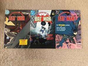 Shadow Of The Batman. Issues 1, 3, 5. DC Comics