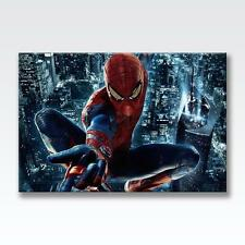 """THE AMAZING SPIDERMAN CANVAS Marvel Poster Print Photo Wall Art 30""""x20"""" CANVAS"""