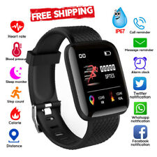 Smart Watch Heart Rate Monitor Fitness Tracker iPhone Android Touch Screen