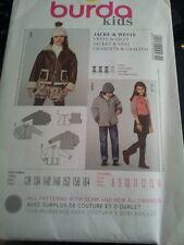 Childrens Sewing Pattern Burda Jacket and Vest 128-164