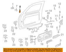 GM OEM Front Door-Pawl Left 12549129