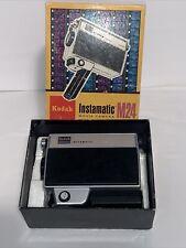 Vintage Kodak Instamatic Movie Camera M24 In Original  Box