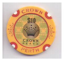 $10 Crown Casino - Perth - Casino Chip