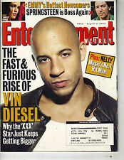 VIN DISEL Entertainment Weekly Magazine 8/2/02 BRUCE SPRINGSTEEN NELLY