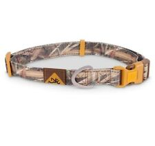 Browning Nylon Mossy Oak Camo Dog Collar,  S, M, L, Reflective Adjustable
