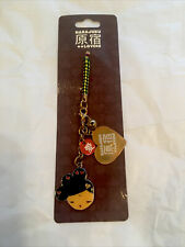 Harajuku Lovers Gwen Stefani Dancers Love Face Phone Charm Keychain New W/ Tags