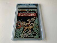 WARLORD 1 CGC 9.4 MIKE GRELL DC COMICS 1976