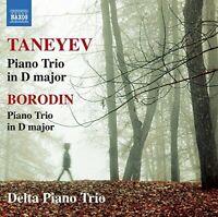 Delta Piano Trio - Taneyev/Borodin: Piano Trios [Delta Piano Trio] [CD]