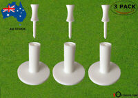 Golf Rubber Tees Winter Range Driving Mat Tee with Free 6 Castle Tees 3 Pack AU