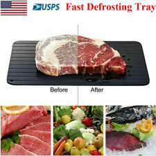 Fast Defrosting Tray Rapid Thawing Board Safe Defrost Meat Frozen Food Plate(S)