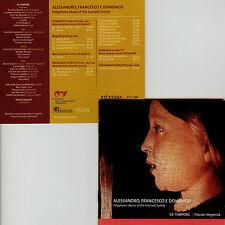 SCARLATTI  polyphonic music from the Scarlatti family  EX TEMPORE , F. HEYERICK