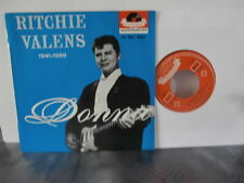 "ritchie valens""la bamba""ep7""or.fr.polydor:2901.dr.languette rare 1ere press 1959"