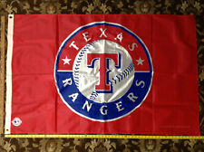 New listing Texas Rangers 3x5 Banner Flag Mlb Baseball Team Sports Fan Indoor Outdoor