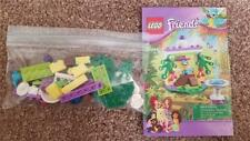 Lego Friends Macaw's Fountain #41044 COMPLETE w Manual RETIRED x