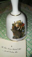 Danbury Mint Norman Rockwell 1st Bell in Series - Doctor And Doll. w/docs. 1975