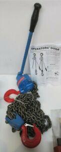 "Reliable R-CH-6000, 3 Ton Lever Chain Hoist, 54"" Standard Lift"