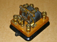 Unusual Small Telegraph (?) Relay Make Unknown Beautiful Condition And Working