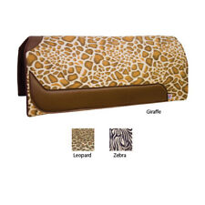 "NEW Exotic Animal Print Western Pad - 32"" x 30"", ZEBRA"
