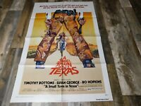 1976 A Small Town In Texas One Sheet Poster 27x41 Timothy Bottoms AIP Action
