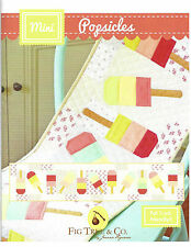 Table Runner Pattern ~ MINI POPSICLES ~ by Fig Tree Quilt Co.