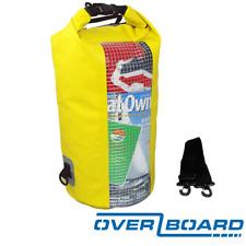 Overboard Impermeabile Dry Tube Bag con finestra – 20 L/20 litri-GIALLO
